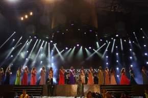 Las candidatas a Reina Nacional de Sol 2016, desfilaron, se presentaron ante el público con distintos atuendos