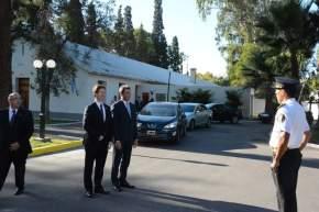 El gobernador Sergio Uñac recibió al embajador de Canadá en Argentina, Robert Fry, en Casa de Gobierno
