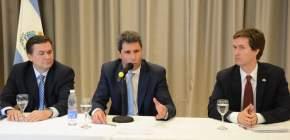 El gobernador Sergio Uñac presidió el acto de apertura del seminario de minería