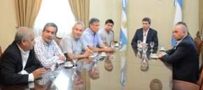 Concejales de La Serena, Chile, visitaron al gobernador Uñac