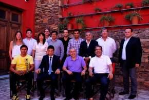 Funcionarios de la Secretaría de Estado de Deportes y de la comuna de La Serena, Chile