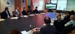 El gobernador Sergio Uñac expuso ante el directorio del Consejo de las Américas