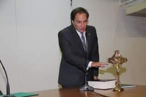 Jura como Secretario de Gobierno, Sergio Ovalles