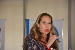 La empresaria Silvia Pérez Trejo fue quien expuso sobre China