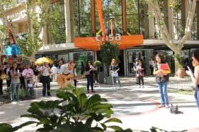 La Municipalidad de la Ciudad de San Juan, a través de su Secretaría de Cultura y Turismo, preparó un FlashMob de bienvenida al otoño