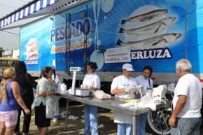 Camión de pescado