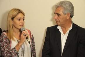 La Directora Nacional de Promoción y Protección del SENAF, Andrea Ventura, en la presentación del Programa de Rescate y Asistencia a personas damnificadas por el delito de Trata