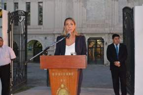 Secretaria de Gobierno, Justicia y Derechos Humanos, Ana Fabiola Aubone