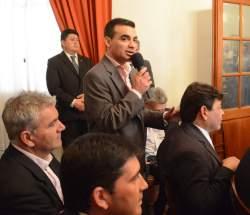 Habla el intendente de Chimbas, Fabián Gramajo