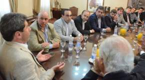Reunión en Casa de Gobierno