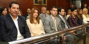 Intendentes, funcionarios y familiares de Uñac presenciaron la apertura de las sesiones