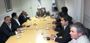 El vicegobernador Marcelo Lima recibió a su par de Catamarca, Octavio Gutiérrez