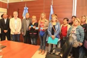 "Entrega de Tarjetas SUBE a integrantes de la Cooperativa ""Mujeres Unidas"" de Capital"