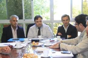 Tras el operativo de abordaje territorial, el intendente de San Martín, Cristian Andino y el ministro de Desarrollo Humano, Walberto Allende, participaron de encuentros sobre temas de Mujer y Políticas Alimentarias