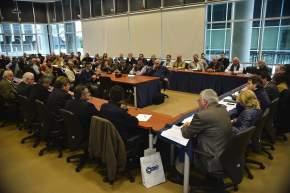 Representantes de Pymes de todo el país asistieron al encuentro realizado en el Congreso de la Nación