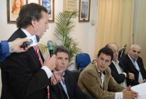 El intendente de Albardón, Juan Carlos Abarca, agradeció al gobernador Uñac por creer en el proyecto del Autódromo Villicum