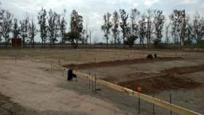 Inicio de la obra del futuro hospital San Roque