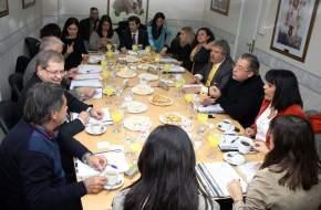 Parlamentarios de Cuyo en la 5a. reunión regional