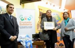 Entregaron el premio Cruzada Solidaria, a la escuela Rómulo Giufra, de Caucete