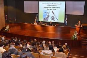 El ministro de Salud Pública en la apertura de las I Jornadas de Bioseguridad dió la bienvenida a los 70 residentes ingresantes