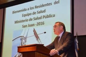 Ministro de Salud Pública, Castor Sánchez Hidalgo