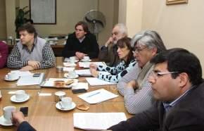 Legisladores de distintos bloques se reunieron con el presidente de E.P.S.E., Víctor Doña