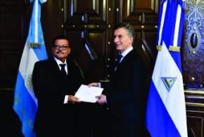 Macri saludó a los embajadores de Nicaragua, Grecia, Paraguay, Costa Rica y Emiratos Árabes