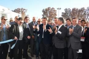 Corte de cintas inaugurando la 6ª exposición internacional de Panorama Minero
