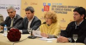 Participó la presidenta de la Comisión Nacional Asesora para la Integración de Personas con Discapacidad (CONADIS) y del Consejo Federal de Discapacidad, Sara Valassina