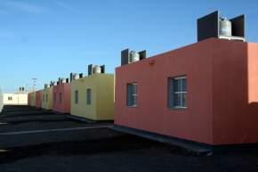El barrio Los Toneles, en Chimbas