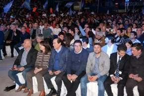 Estuvieron presentes legisladores, intendentes, dirigentes y deportistas