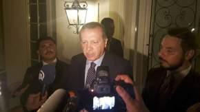Presidente turco Recep Tayip Erdogan