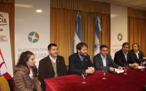 Conferencia de prensa por la Maratón