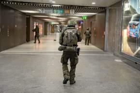 La Policía recorrió el centro comercial