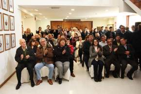 Legisladores, funcionarios, dirigentes sindicales e invitados entre los asistentes