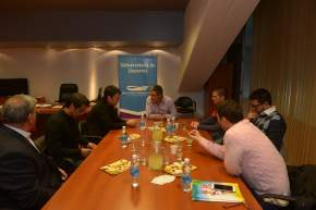Funcionarios de Deportes, de Mendoza, San Juan y San Luis, reunidos en Mendoza