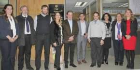 Autoridades municipales de Capital con auditores de calidad de gestión del Senado de la Nación