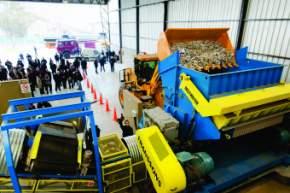 Primera planta de producción de combustible sólido recuperado del país