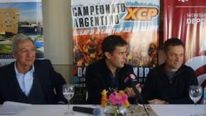 El Secretario de Estado de Deportes, Jorge Chica, encabezó la conferencia de prensa realizada en el Hotel Del Bono Park
