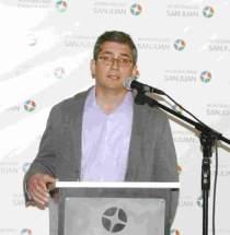 Director de Salud, Dr. Gabriel Agüero