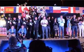 Culmin� la Copa Mundial de Kayak Freestyle