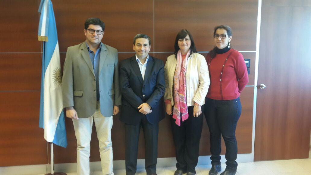 Reunión con el Cónsul General de Chile