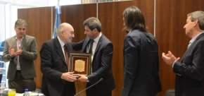 Reconocimiento a miembros del comité ejecutivo de la Comisión Federal de Impuestos