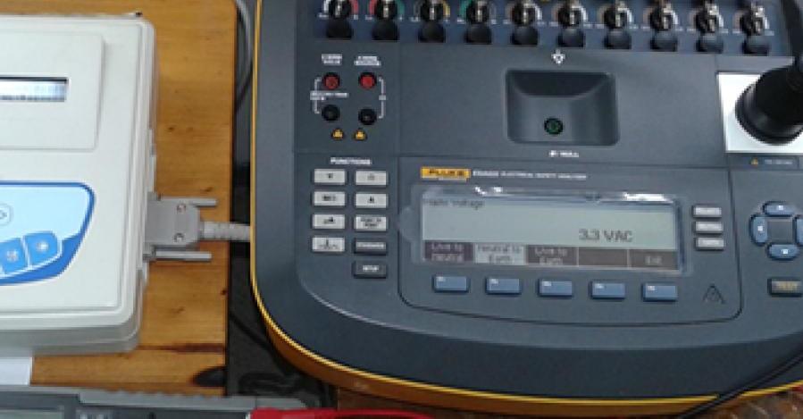 Sistema de control de calidad del equipamiento