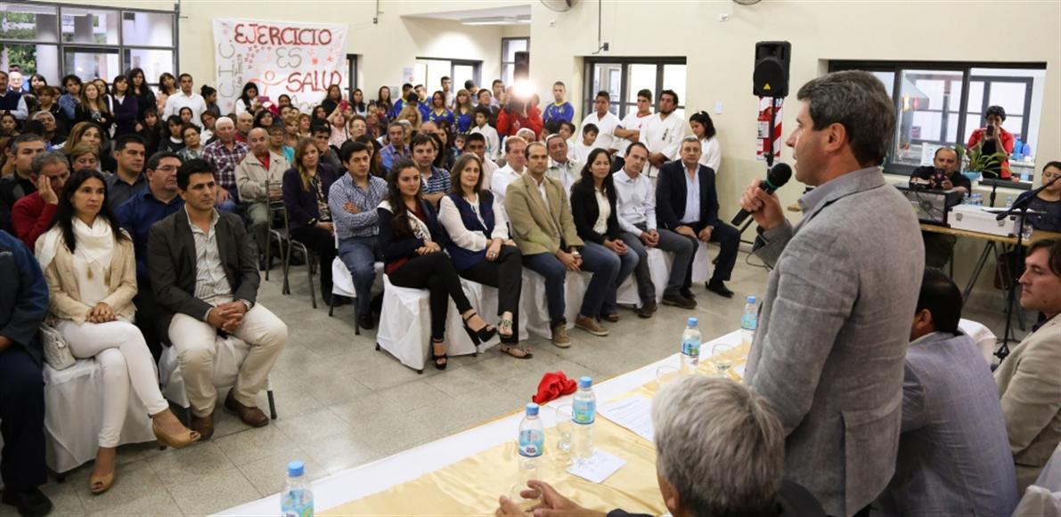 Inauguración de Nuevo Gimnasio en Angaco