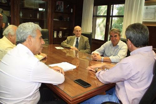 Visita del Secretario de Coordinación y Monitoreo Institucional, Gabriel Castelli