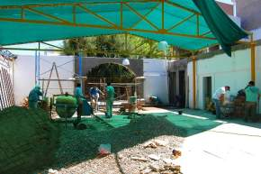 Obras en el Solar Sanmartiniano
