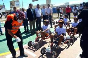 Lanzamiento de las Jornadas de Educación Vial en Colonias de Verano del Club Colón Jr.