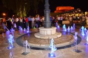 Inauguración de la Plaza del Bicentenario de la Independencia