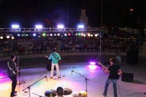 Espectáculo musical en el Anfiteatro de la Plaza del Bicentenario de la Independencia